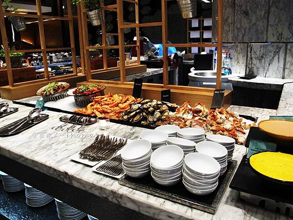 Le Meridien Bangkok,泰國五星酒店,泰國五星自助餐,泰國艾美酒店,美麗殿自助晚餐_11