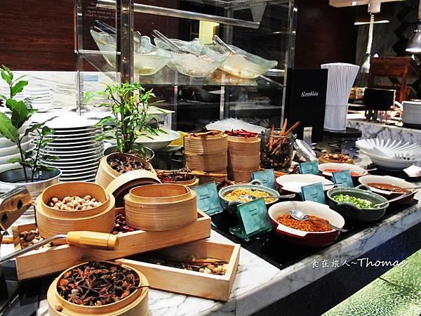 Le Meridien Bangkok,泰國五星酒店,泰國五星自助餐,泰國艾美酒店,美麗殿自助晚餐_19