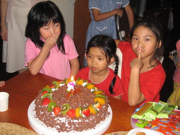 2006.10.13小愛和若妤的生日