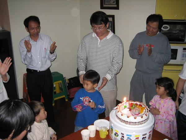 2007/3/16給天恩慶生