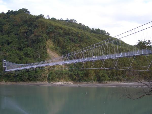 溪口吊橋,偉寅的私房景點
