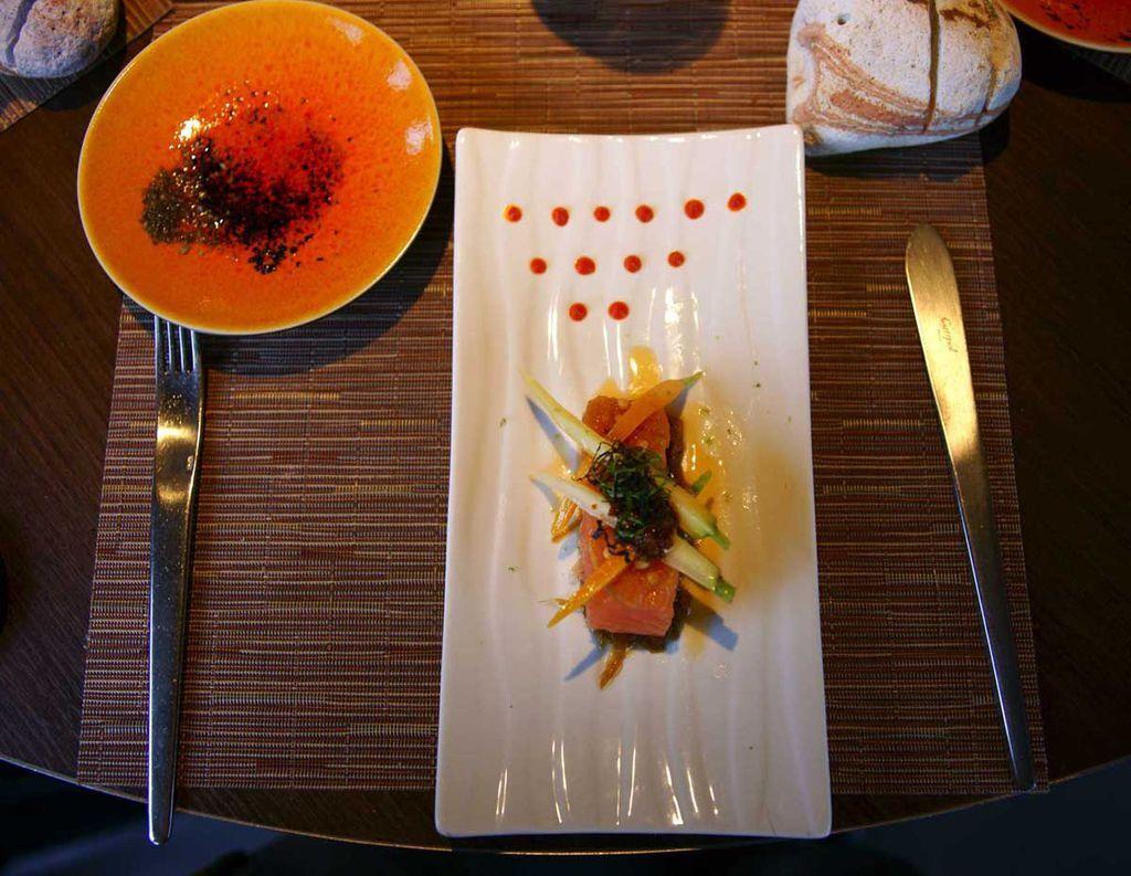 2012-6-30-Bourgogne勃根地米其林1星級餐廳-9