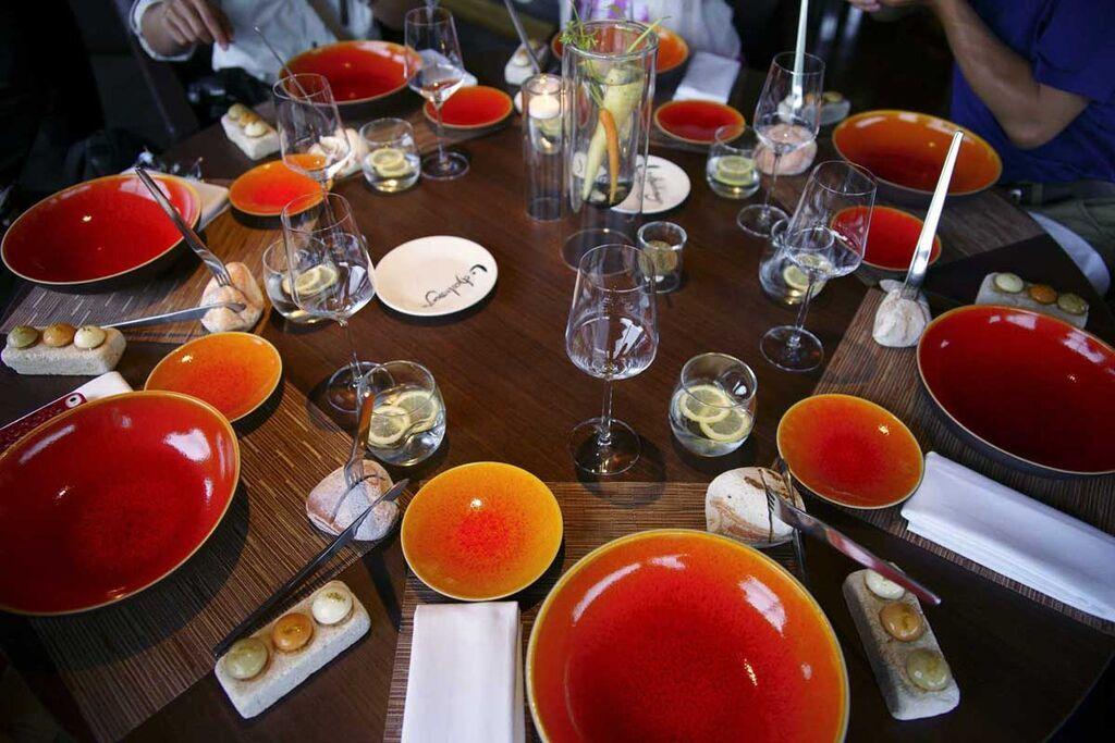 2012-6-30-Bourgogne勃根地米其林1星級餐廳-5