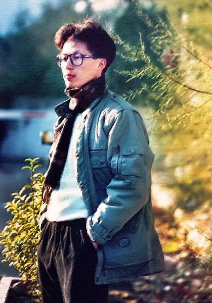 紀國章老師本人肖像-2 (1992)