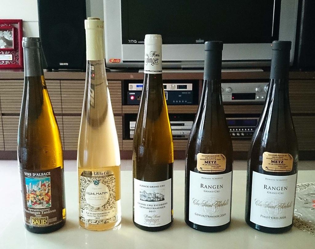 Alsace特級園白酒5瓶(網路用)