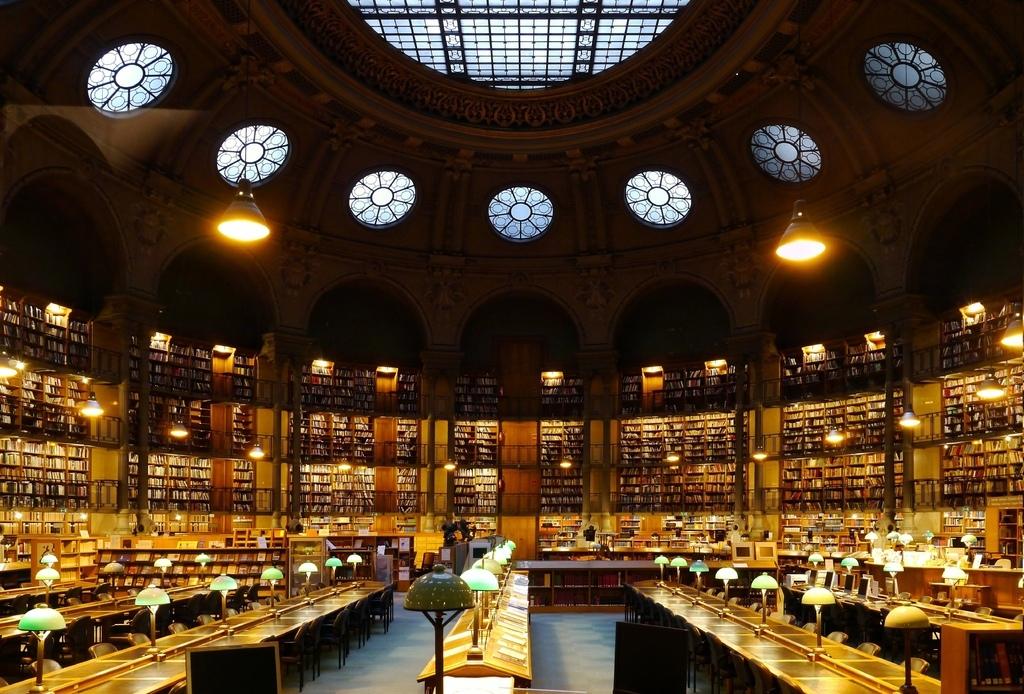 巴黎國家圖書館-1