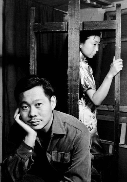 法國肖像攝影大師Denise Colomb-(Zao Wou-Ki et Lalan,1952)41.jpg