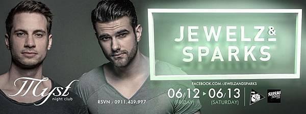 6.12 FRI. & 6.13 SAT. 【國際駐場DJ 系列二】德國EDM新銳: Jewelz & Sparks