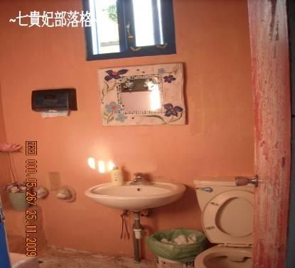 廁所佈置的小巧可愛