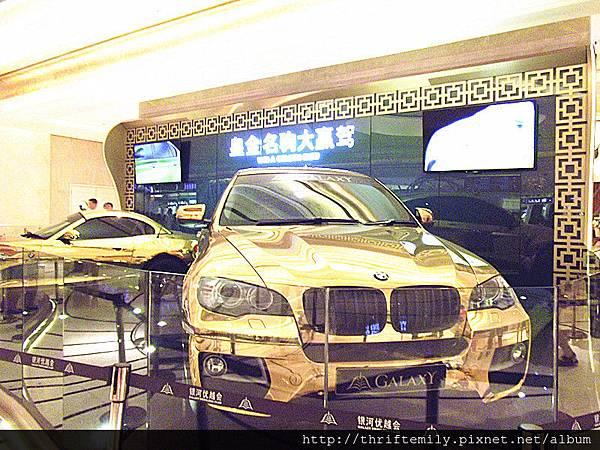 金光閃閃BMW