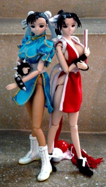 Chun-Li & Mai Shiranui ?