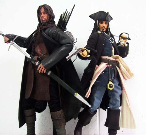 Aragon & Jack Sparrow
