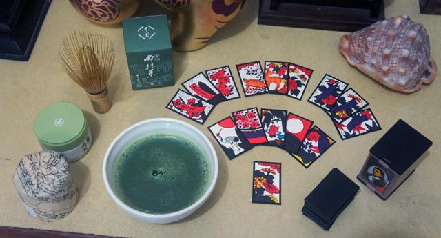 抹茶&花札