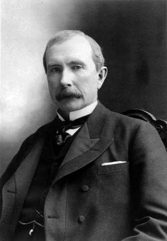 約翰.戴維森.洛克菲勒(1839-1937)。(取自網路)
