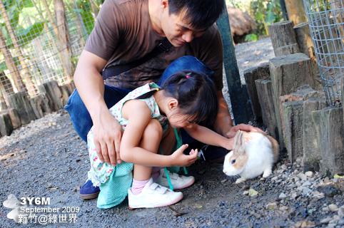 第一次摸小白兔