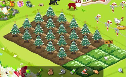 我的開心農場過耶誕節