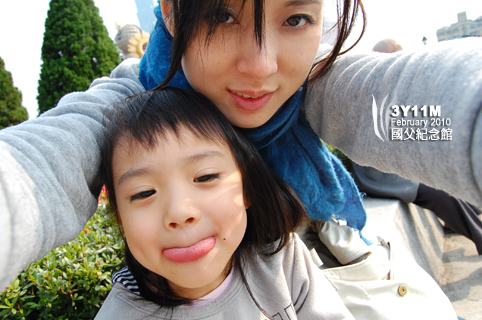 小思毅與媽媽