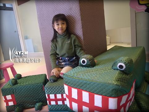 故事島有大鱷魚和小鱷魚