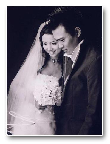古老結婚照