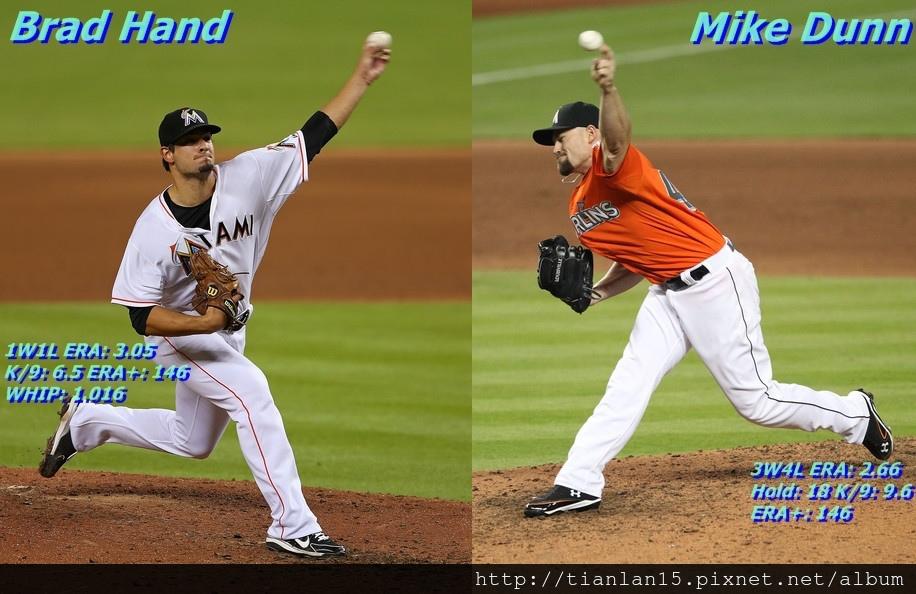 Brad Hand + Mike Dunn