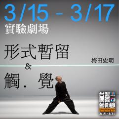 2013 TIFA─梅田宏明《形式暫留》&《觸‧覺》