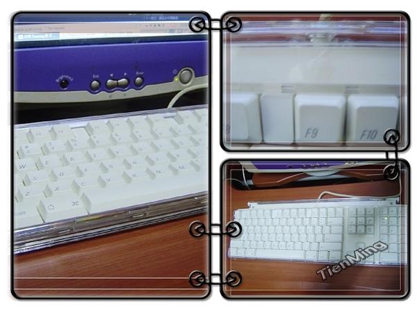 友人送的mac鍵盤