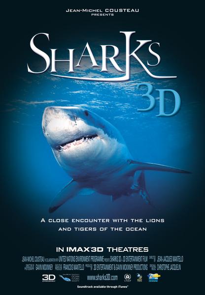 《3D鯊鯊鯊》Sharks 3D