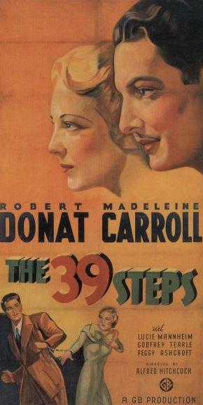 《國防大機密》The 39 Steps
