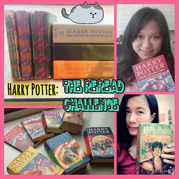 Harry Potter reread challenge