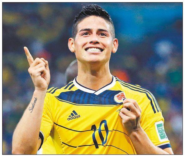 哥倫比亞-羅德里格斯James Rodriguez