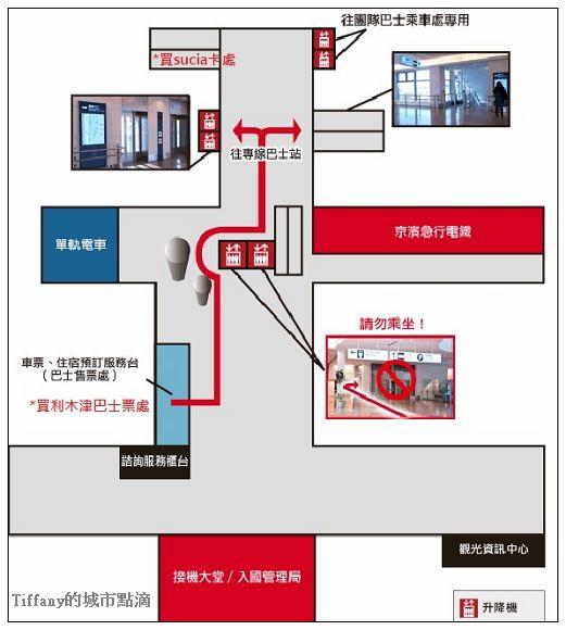羽田機場圖
