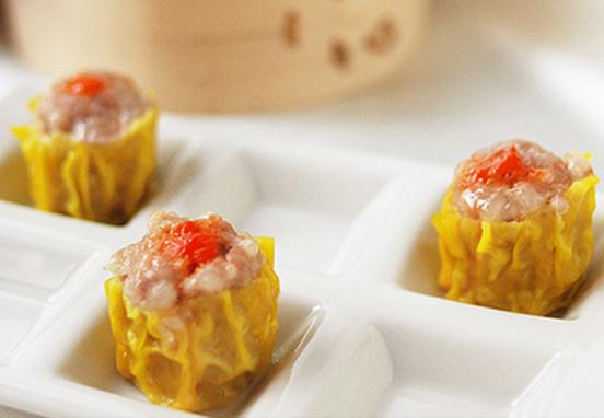 蟹黃蝦燒賣Shrimp Dumpling