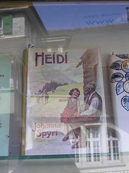 Heidi的故鄉--瑞士