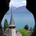 從Spitz城堡上的小洞往外拍