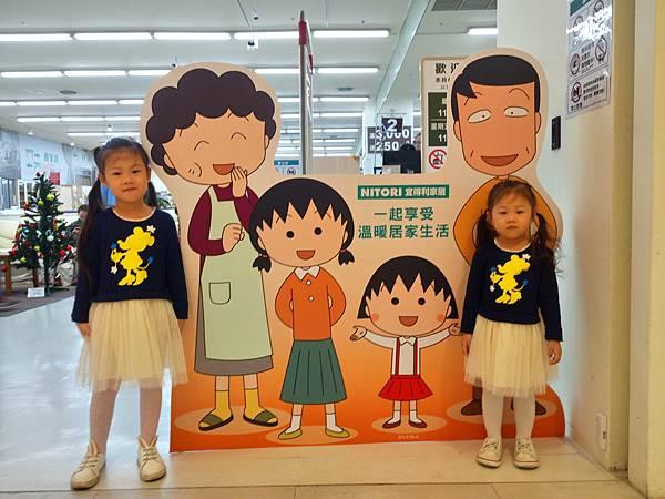 2016.12.11。(5歲3個月又2天)(3歲5個月又19天)。新竹巨城百貨逛逛;B1多了好多新的櫃位可以逛-2