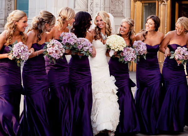 deep-purple-bridesmaid-dresses
