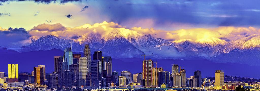 LA Downtown Snow Mountain_7477-全景-1-1