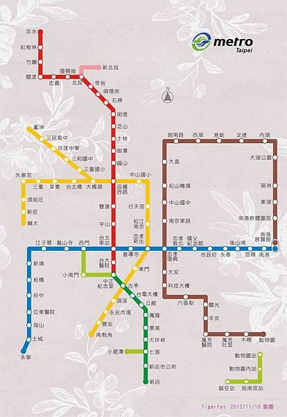 捷運圖2012_11_18_台北