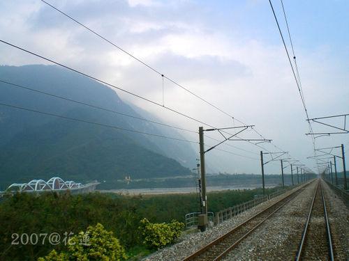 花蓮火車美景