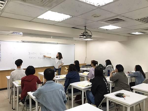 時代國際 韓文 中小班上課人數