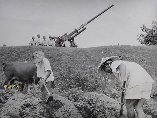 1958台北近郊一景