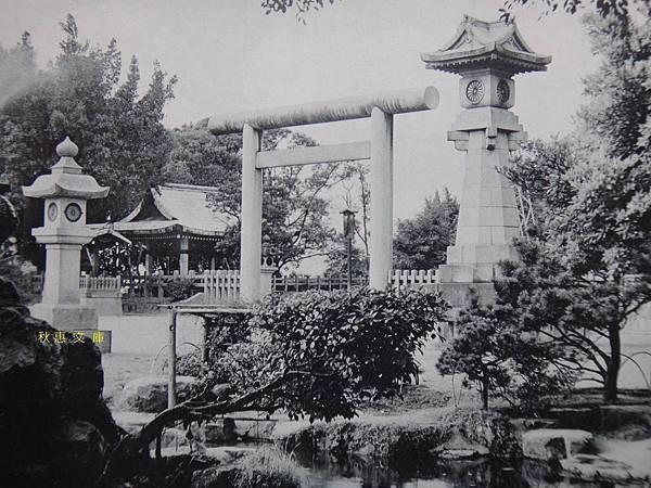 日本時代台灣神社境內一景(現台北圓山飯店)