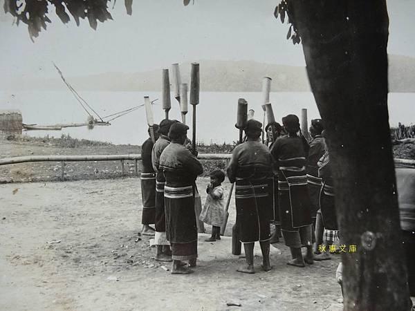 日本時代日月潭杵音1