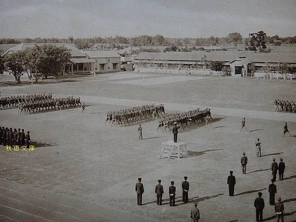 創立1919年的台中商業學校(現台中科技大學),相片約拍攝於1939年.2