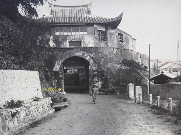日本時代澎湖馬公城門