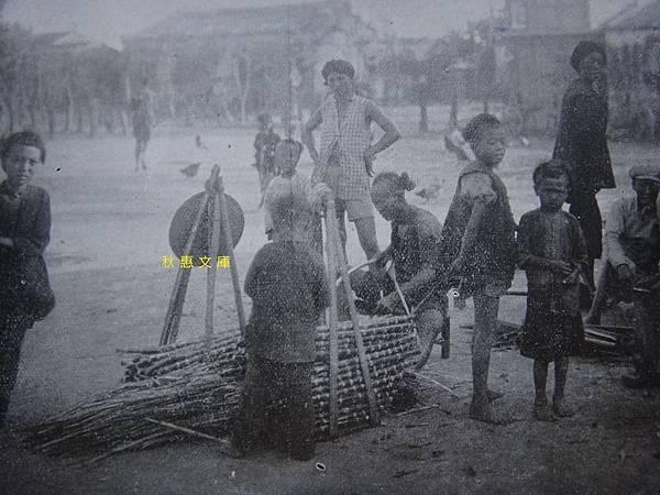 1910年代台灣路旁賣甘蔗小販