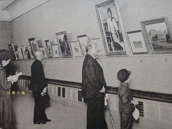 1930年代初期台北第二師範學校(現國立台北教育大學)繪畫展覽會2