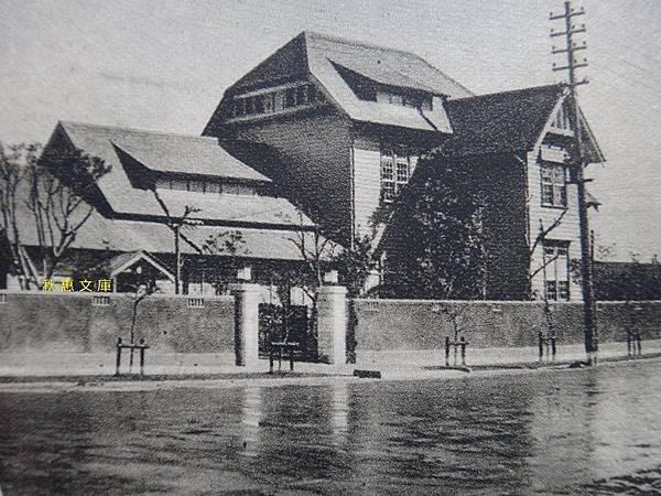 1930年代台北表町愛國婦人會台灣本部,現為襄陽路富邦大樓