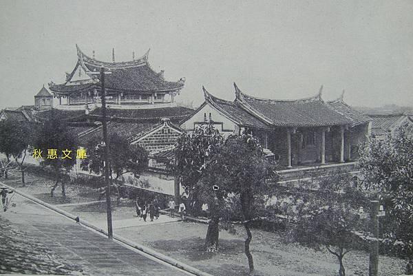 曾在明治36年(1903)花費二萬円重修,1910年代的宜蘭孔廟