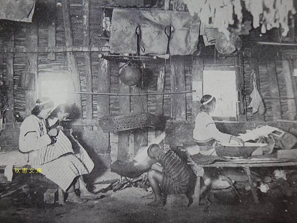 日本時代原住民機織